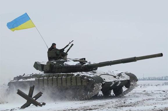 Українські військові майже повністю