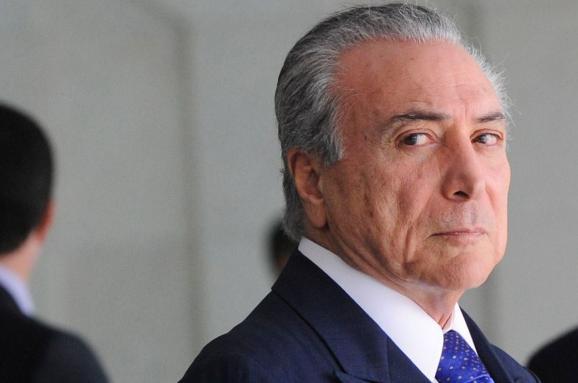6324874f3c96 Мишел Темер официально стал президентом Бразилии