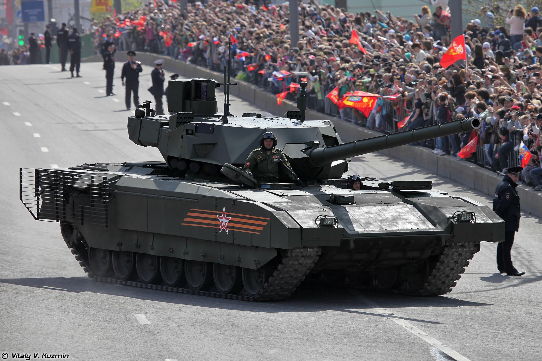 "Танк ""Армата"" Т-14"