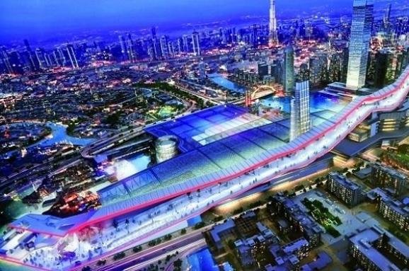 гірськолижний спуск Дубай ОАЕ
