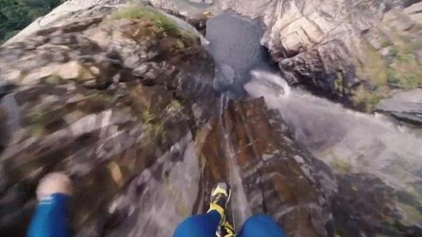 19 - Highest cliff dive ever ...