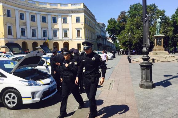 патрульна поліція Одеса Богдан Федун