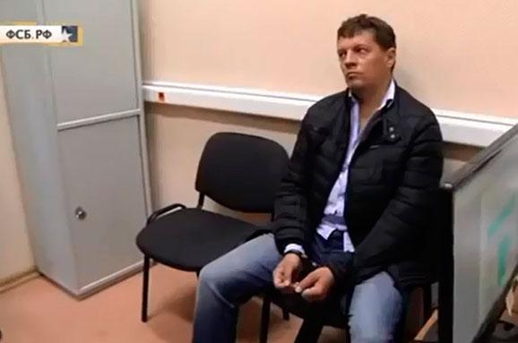 Сьогодні вРФ висунуть звинувачення українському журналісту Сущенку— Фейгін