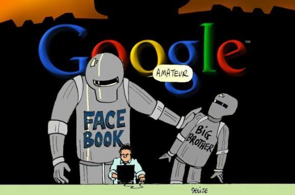 Родственники Большого Брата. Почему Google и Facebook знают все ваши тайны