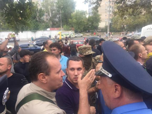 мітинги під судом в Одесі