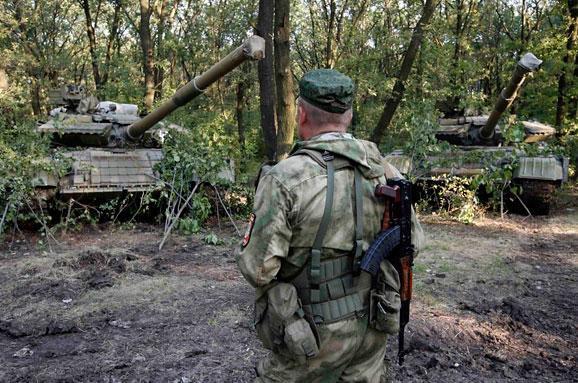 танки бойовиків