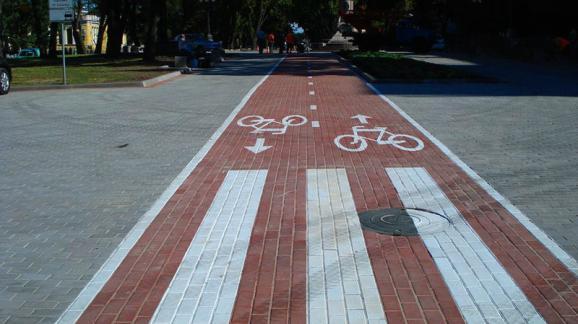Дніпропетровськ велодоріжки