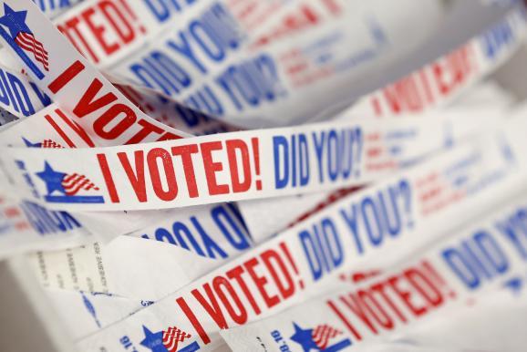 вибори США стікери
