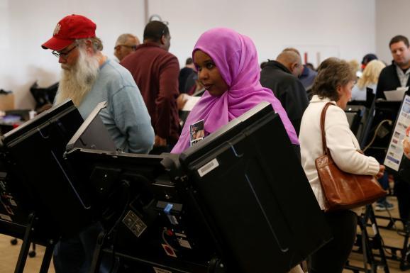 вибори США голосування