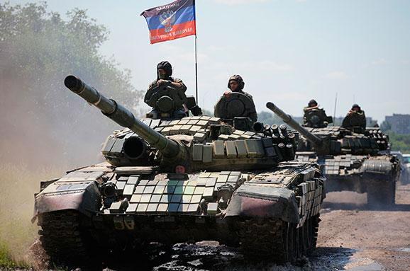 танки терористів