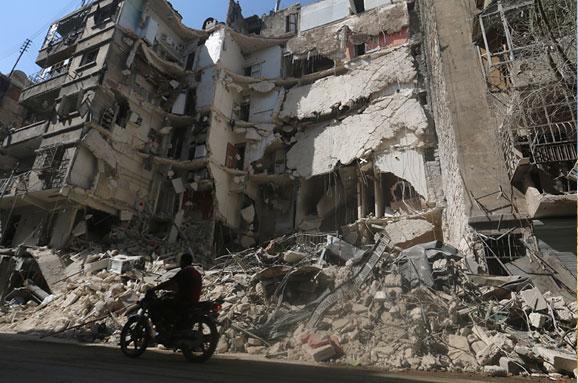 Сирия Алеппо атака Ассад