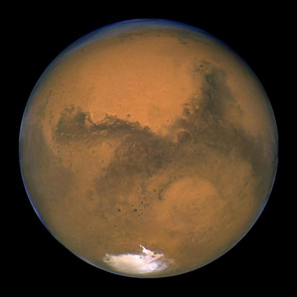 Фоторепортаж: Впечатляющие доказательства воды на Марсе
