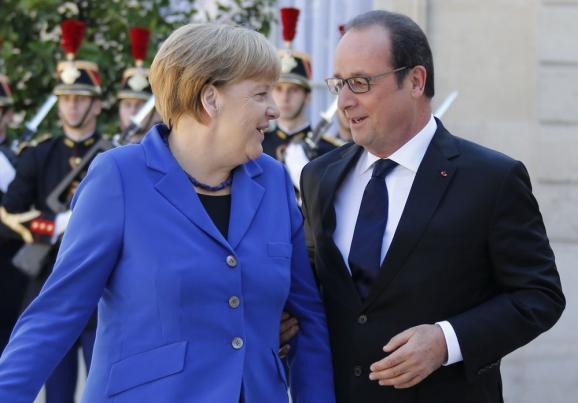 Фоторепортаж: Встреча Нормандской четверки в Париже