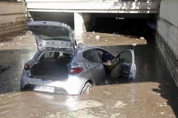 наводнение Канны