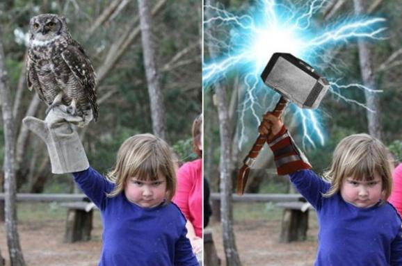 дівчинка з совою