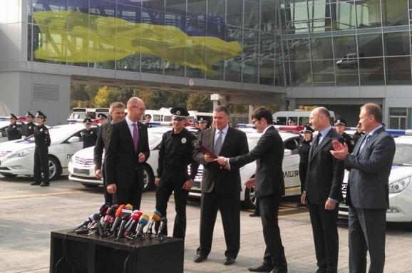 Бориспіль таксі патруль поліція Пивоварський