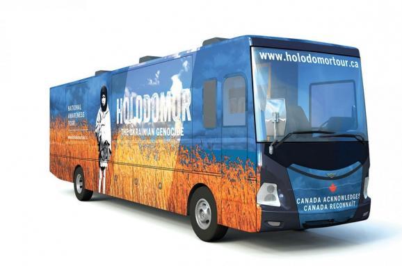 Голодомор автобус Канада