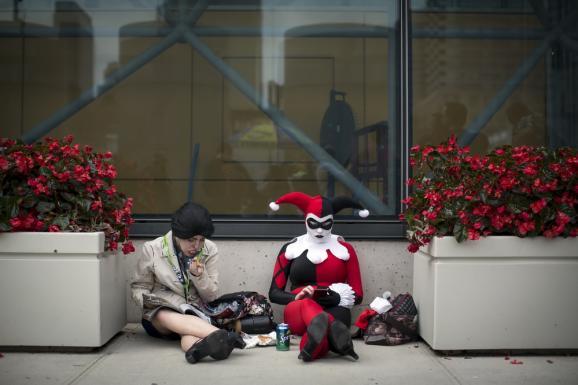 Фоторепортаж: В Нью-Йорке проходит грандиозное сборище фанатов комиксов