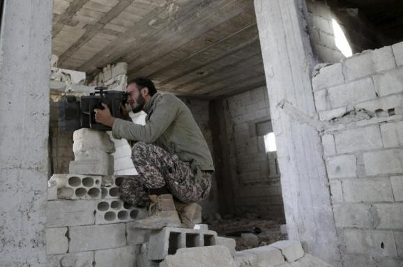 Сирія позиції Вільної сирійської армії
