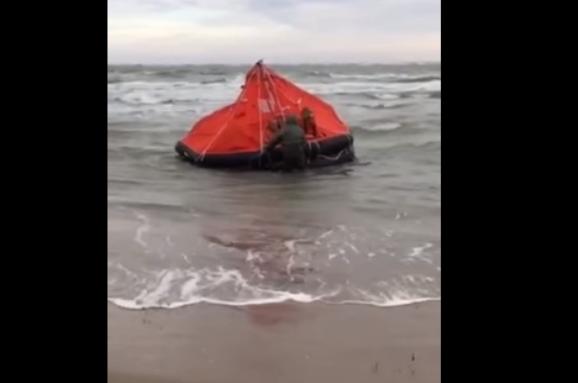 УЗатоці триває пошук двох людей зпотонулого катера