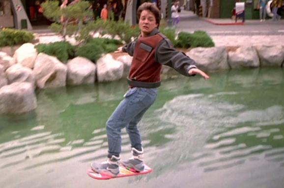 Скейтборд повітря Назад у майбутнє 2015
