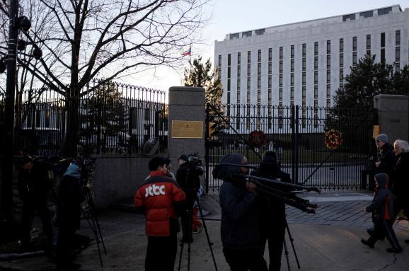 посольство Росія США