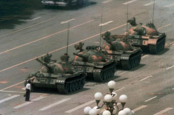 танки на Тяньаньмень
