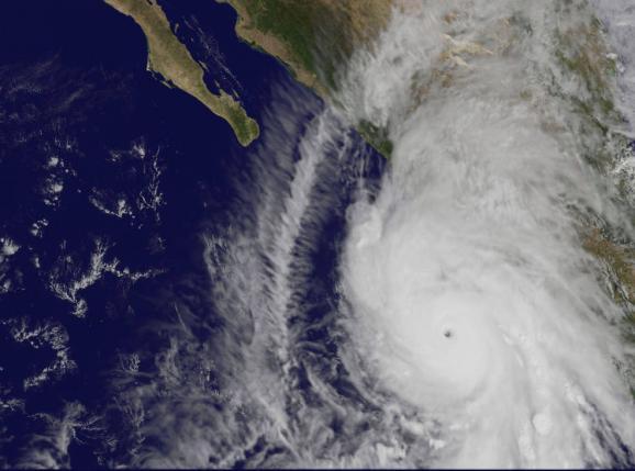 ураган космос