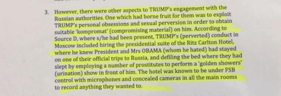 Дональд Трамп російський компромат