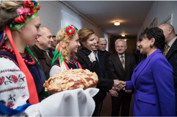 Міністр торгівлі США відвідала історичну батьківщину наКиївщині