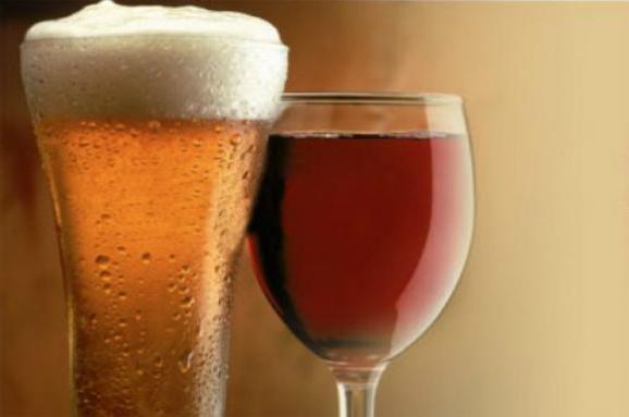 вино та пиво