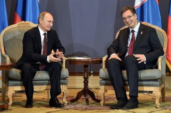 Путин Вучич Сербия Россия