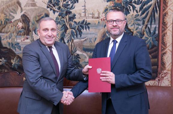 Новим послом Польщі вУкраїні призначений колишній журналіст Марчін Войцеховський