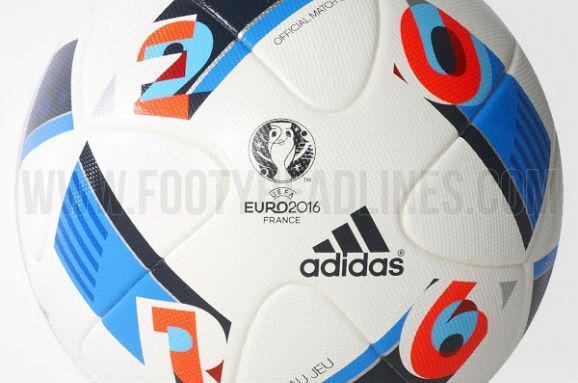 Умережі з'явилися фотографії м'яча Євро