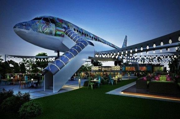 самолет-ресторан
