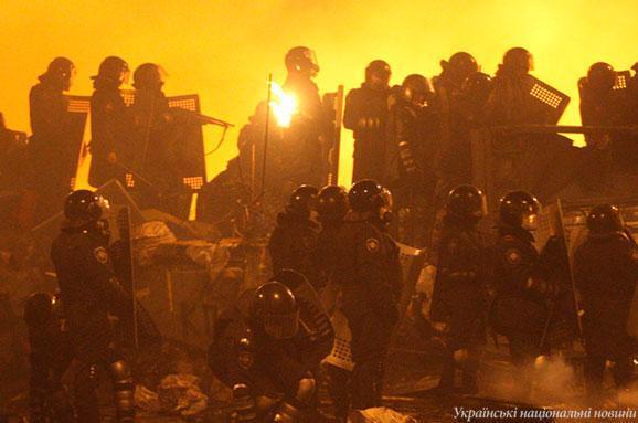 штурм Майдану вночі з 18 на 19 лютого