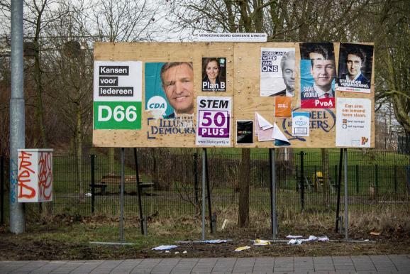 Нідерланди парламентські вибори агітація