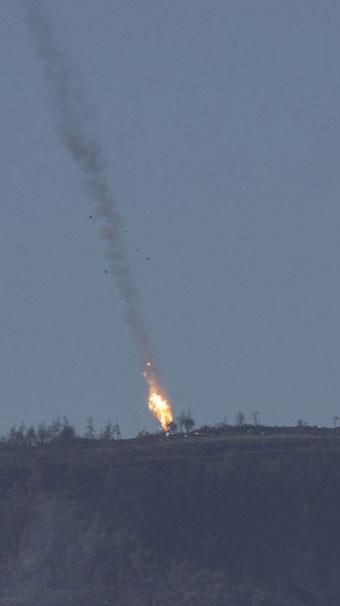 Турция Россия Сирия истребитель Су24