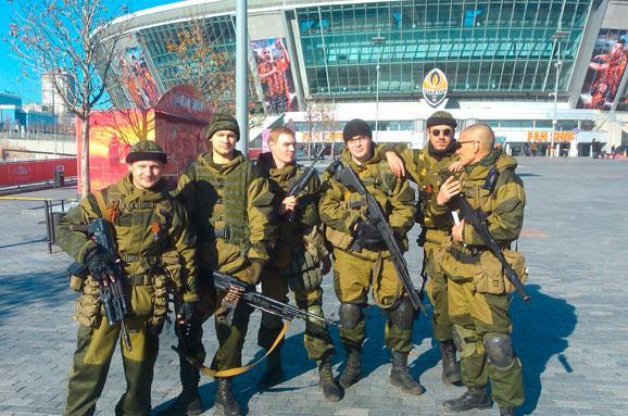 Бойовики «ДНР» захопили «Донбас-Арену» і базу «Шахтаря»