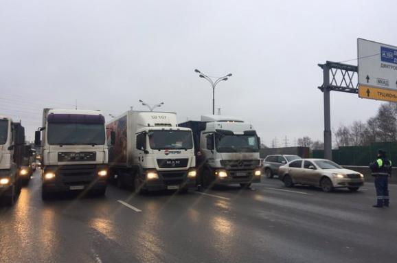 Далекобійники протест Росія
