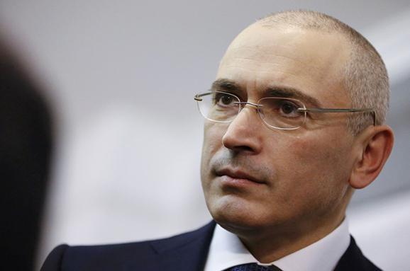 Ходорковського уРосії оголосили урозшук
