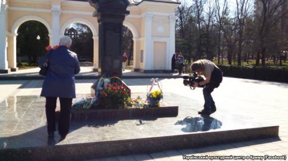 Крим пам'ятник Шевченку