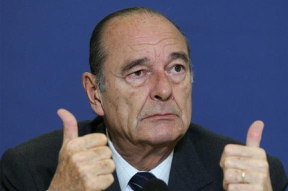 Екс-президент Франції Жак Ширак госпіталізований
