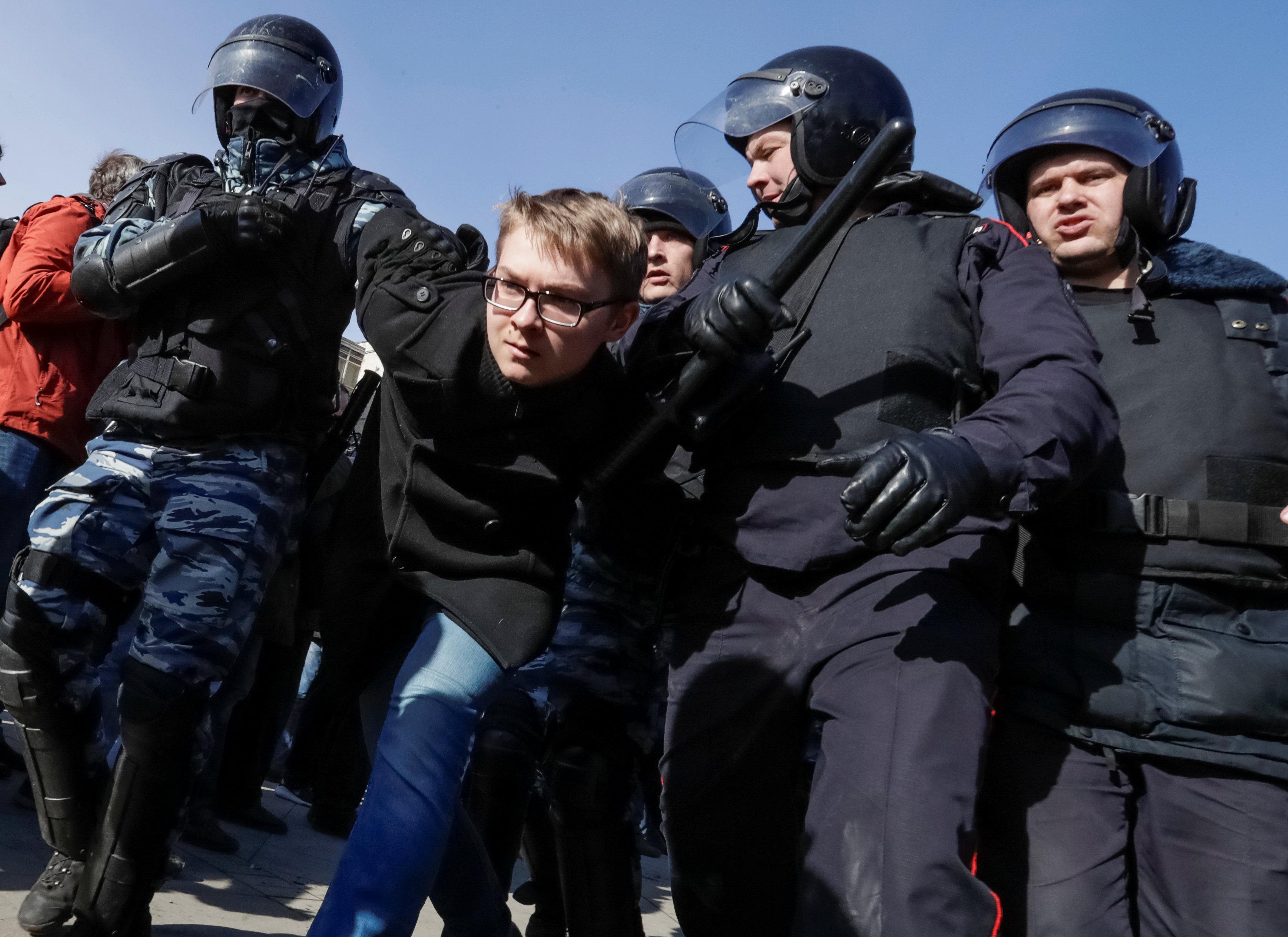 акція Москва Росія