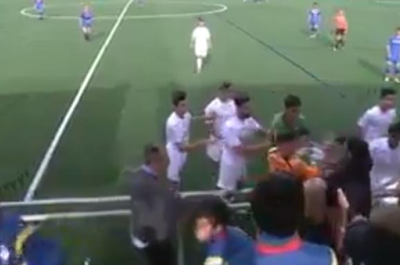 бійка футбол Іспанія