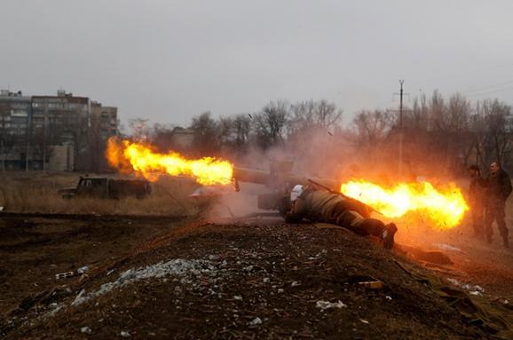 Терористи накрили вогнем з мінометів сили АТО біля Зайцевого