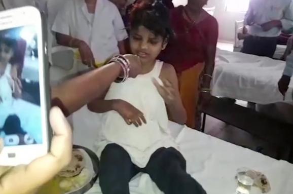 маугли девочка Индия