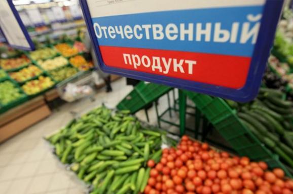 Україна вводить ембарго наросійські продукти до5 серпня