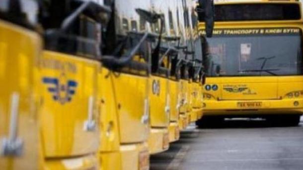 На 9 мая в Киеве изменят маршруты общественного транспорта