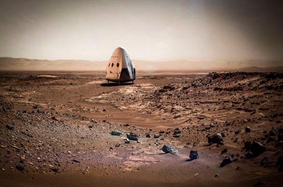 SpaceX запустить два кораблі наМарс